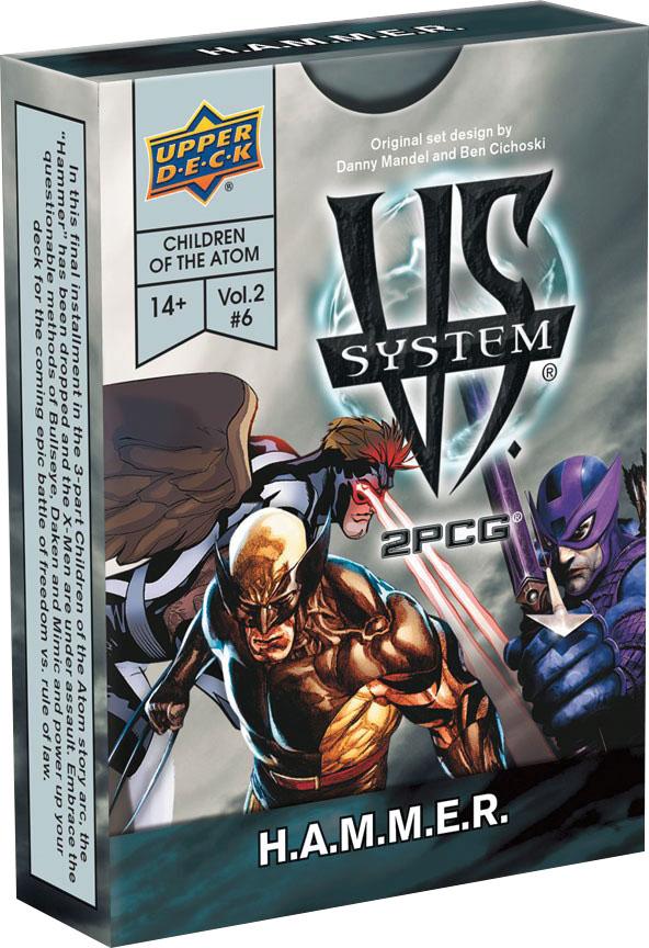 Vs System 2pcg: Marvel Children Of The Atom - H.a.m.m.e.r. Game Box