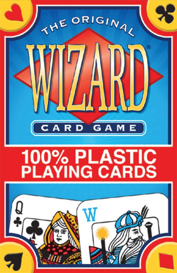 Wizard Card Game (100% Plastic) Box Front