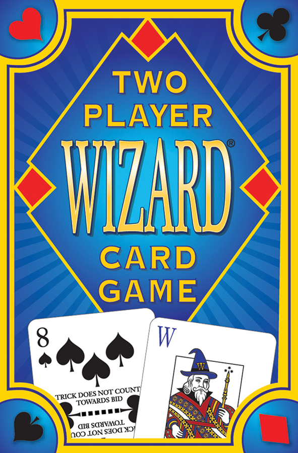 Wizard Card Game: Two Player Box Front