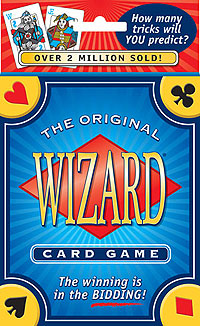 Wizard Card Game Box Front