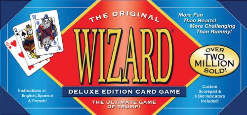 Wizard Card Game: Deluxe Edition Box Front