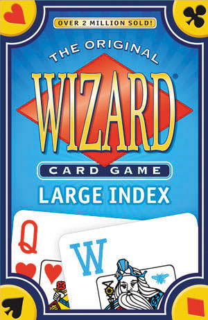 Wizard Card Game: Large Index Box Front