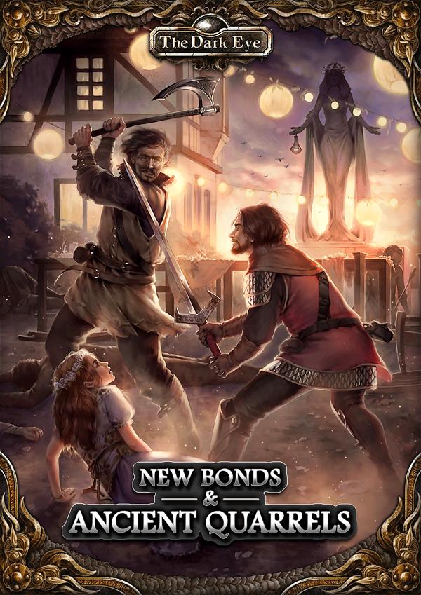 The Dark Eye Rpg: New Bonds And Ancient Quarrels Game Box