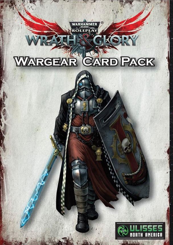 Warhammer 40k Wrath & Glory Rpg: Wargear Card Pack Game Box