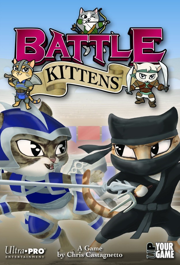 Battle Kittens Box Front