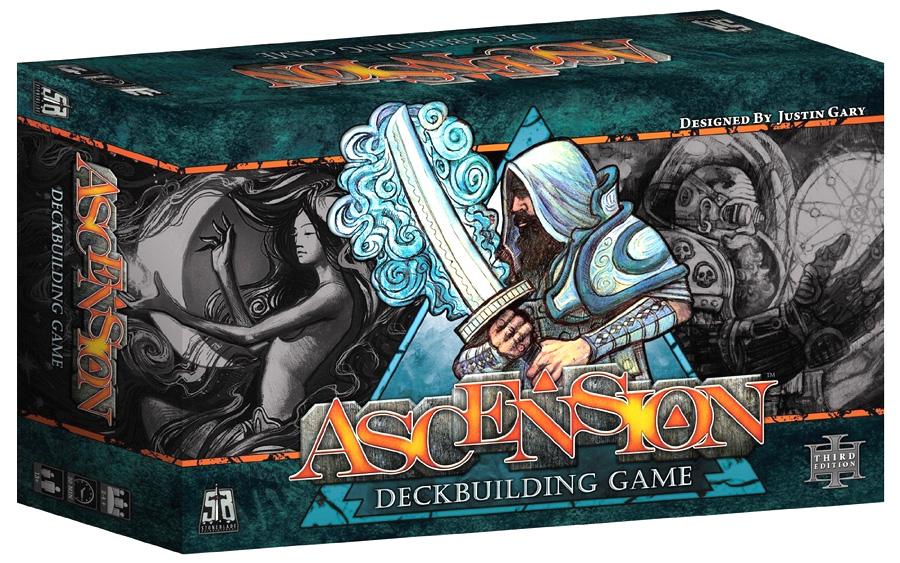 Ascension: 3rd Edition - A Fantasy Deckbuilding Game (core Set) Box Front
