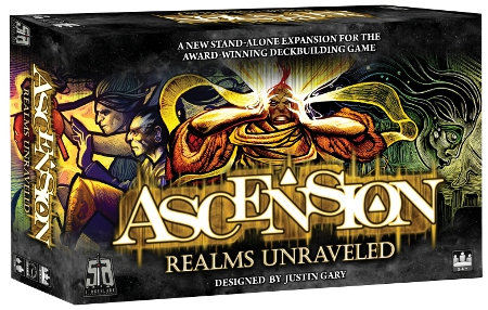 Ascension: Realms Unraveled Expansion Box Front