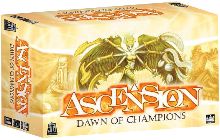 Ascension: Dawn Of Champions Expansion Box Front