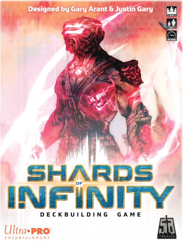 Shards Of Infinity: Deckbuilding Game Box Front