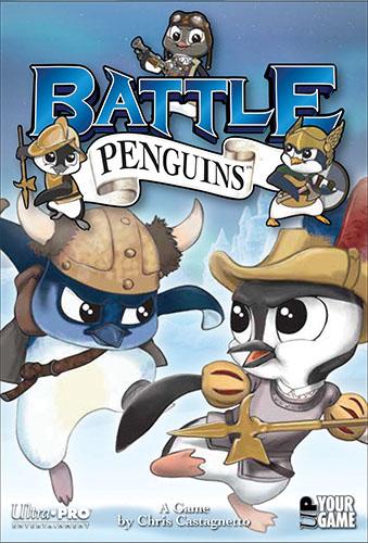 Battle Penguins Game Box