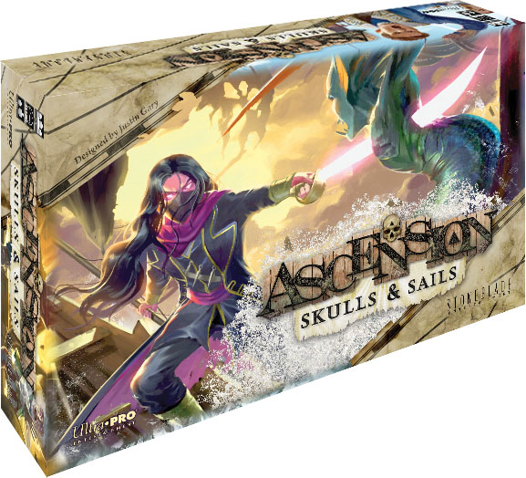 Ascension: Skull & Sails Game Box