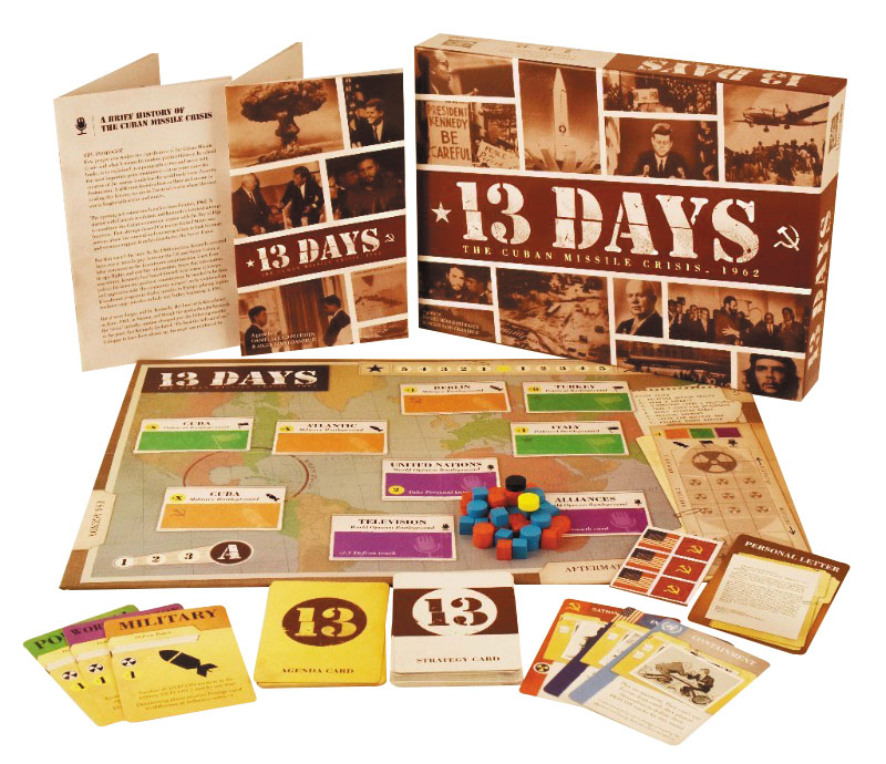 13 Days: The Cuban Missile Crisis, 1962 Box Front