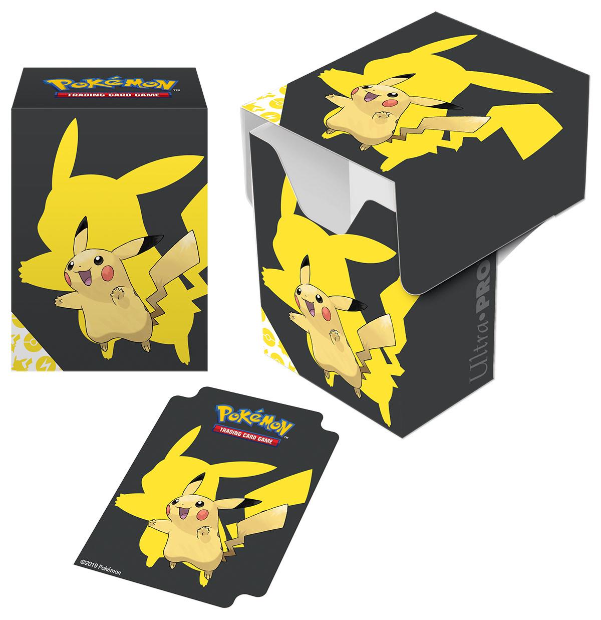 Pokemon Tcg: Pikachu 2019 Full View Deck Box Game Box