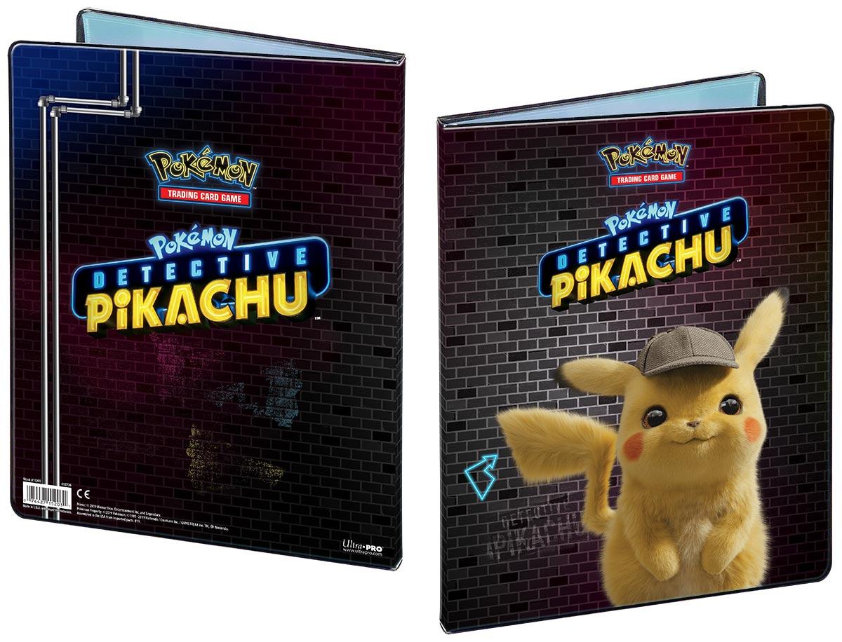 Pokemon: Detective Pikachu 9-pocket Portfolio - Pikachu Game Box