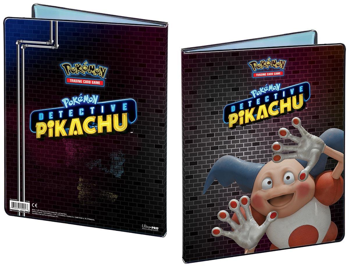 Pokemon: Detective Pikachu 9-pocket Portfolio - Mr. Mime Game Box
