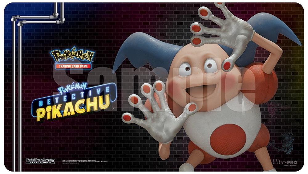 Pokemon: Detective Pikachu Play Mat - Mr. Mime Game Box
