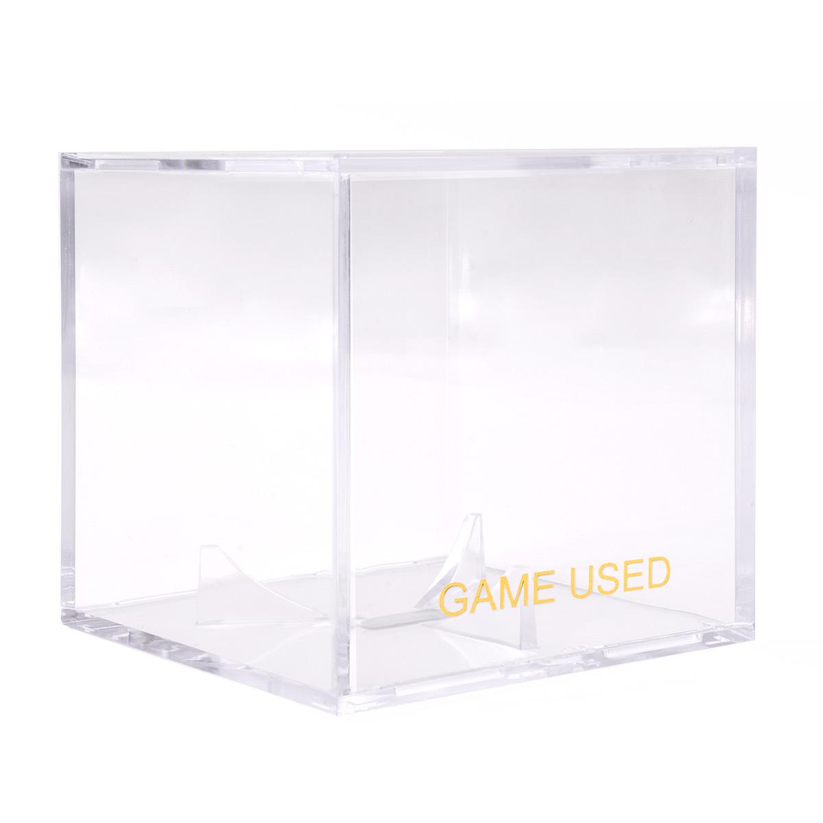 Game Used Baseball Clear Square Uv Holder