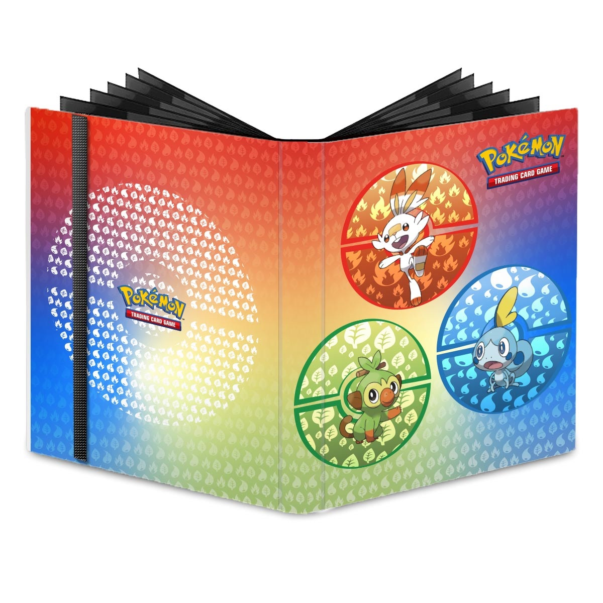 Pokemon: Sword & Shield Galar Starters 9-pocket Pro-binder