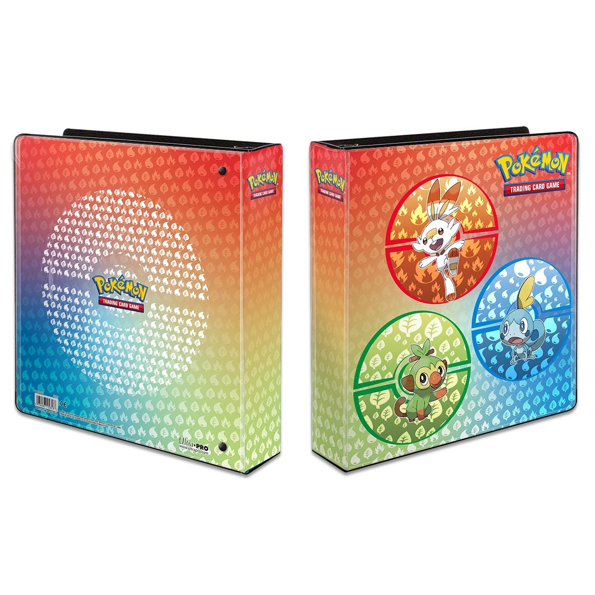 Pokemon: Sword & Shield Galar Starters 2in Album