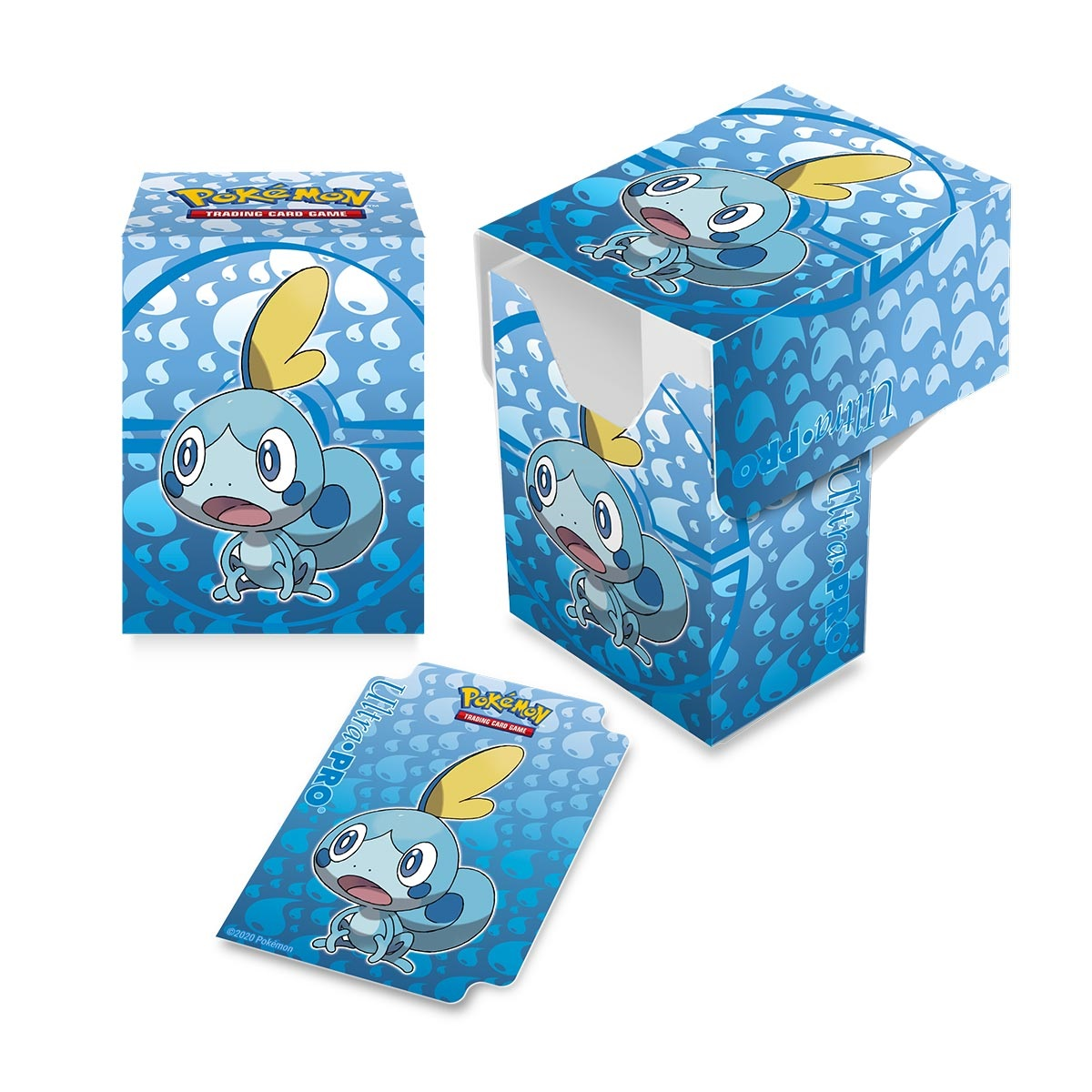 Pokemon: Sword & Shield Galar Starters Sobble Full View Deck Box