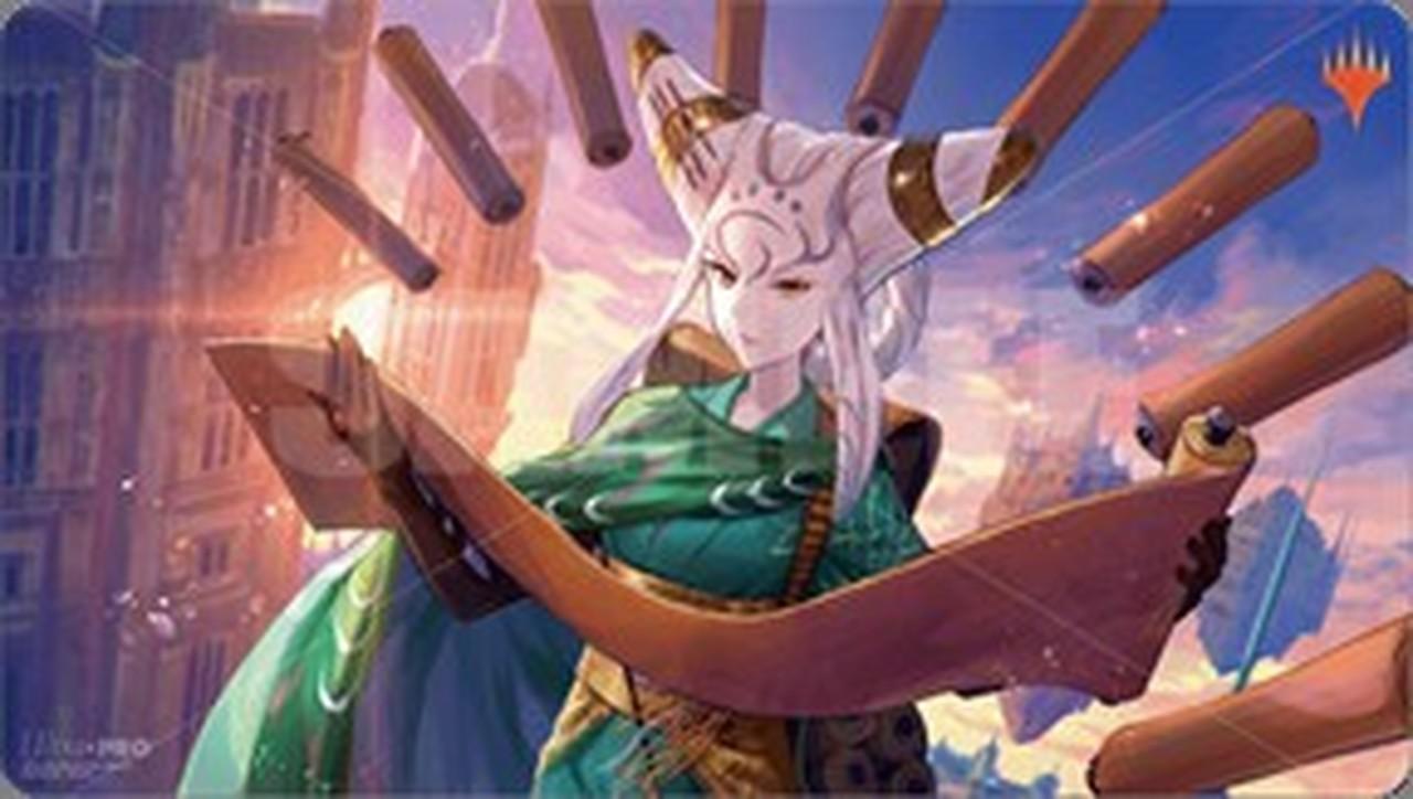 Magic The Gathering: War Of The Spark Japanese Alt. Art Play Mat - Tamiyo