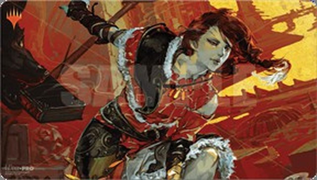 Magic The Gathering: War Of The Spark Japanese Alt. Art Play Mat - Arlinn Kord