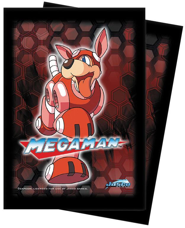 Megaman: Deck Protector 50ct - Rush Box Front