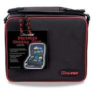 Gaming Card Case With Red Trim Box Front
