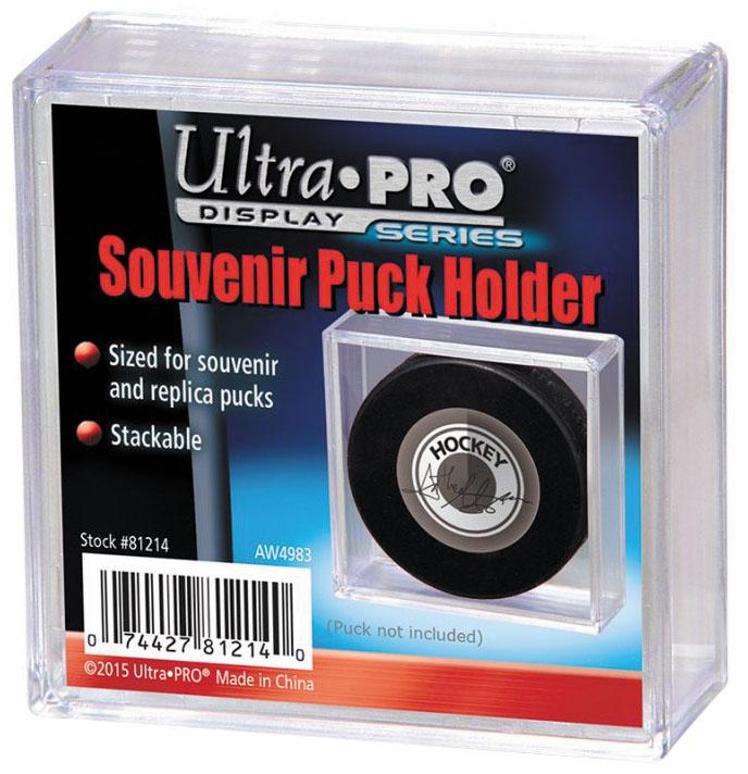 Souvenir Puck Holder Box Front