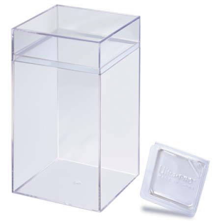 Toy Storage And Figurine Display Case Box Front