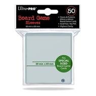 Board Game Sleeves: 69x69mm (50) Box Front
