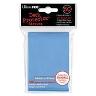 Deck Protector Pack: Light Blue Solid 50ct (display 12) Box Front