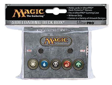 Magic The Gathering: Mana V3 All Mana Deck Box With Dual Life Counter Box Front
