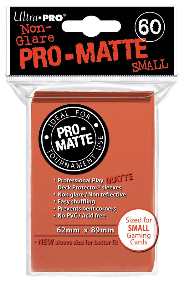 Pro-matte Small Deck Protectors: Peach (60) Box Front