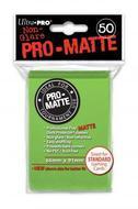 Pro-matte Deck Protectors Pack: Light Green (display 12) Box Front