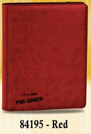 Pro-binder: Red Box Front