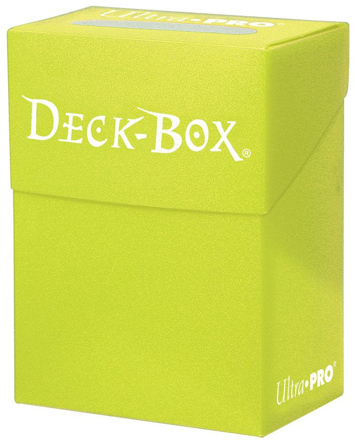 Deck Box: Bright Yellow Box Front