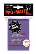 Pro-matte Small Size Deck Protector: Purple (display 10) Box Front