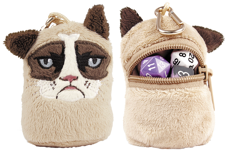 Grumpy Cat Mini Dice And Token Pouch Box Front