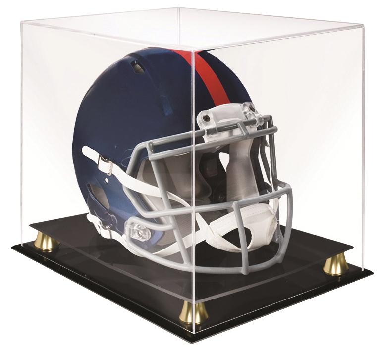 Speed Helmet Riser Display Box Front