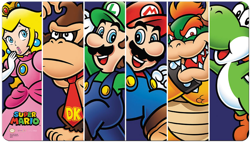 Super Mario: Mario And Friends Play Mat Box Front