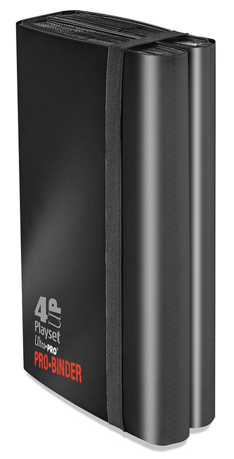 Pro-binder: 4-up Playset Black Box Front