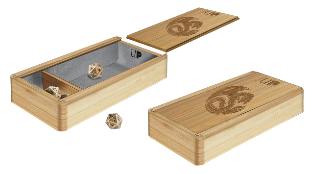 The Ark Premium Wooden Dice Tray Box Front
