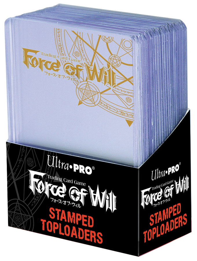 Force Of Wil:l Stamped Toploader Box Front