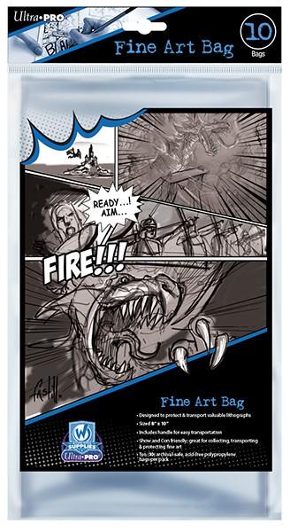 Fine Art Bags 8in X 10in (10) Box Front