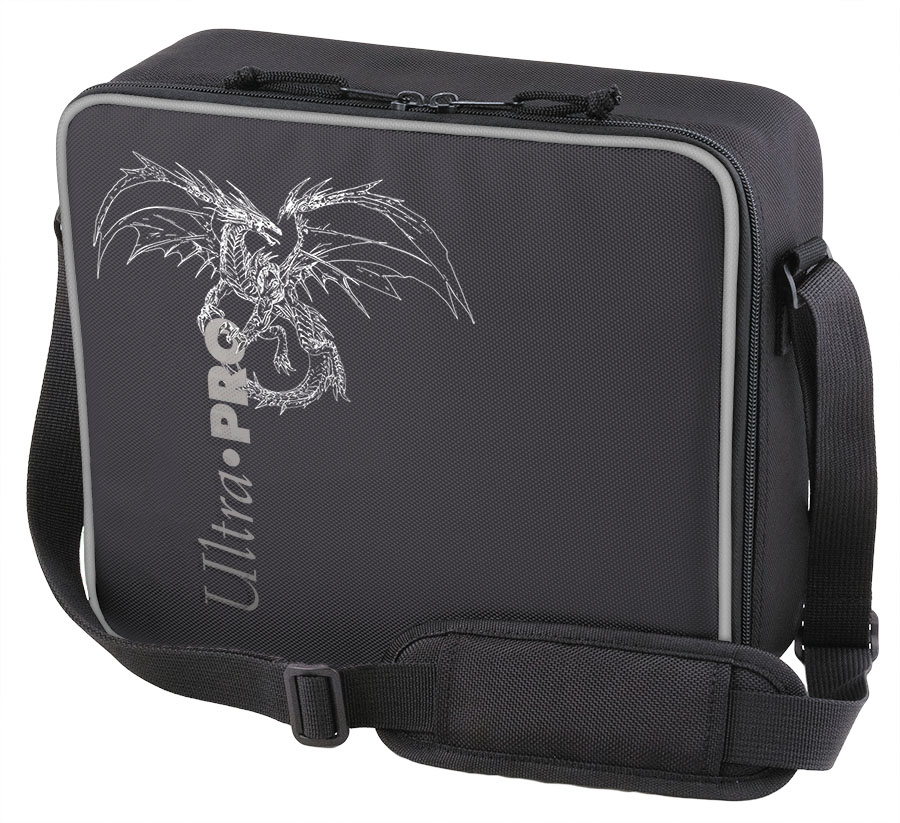 Deluxe Gaming Case Black Dragon Box Front