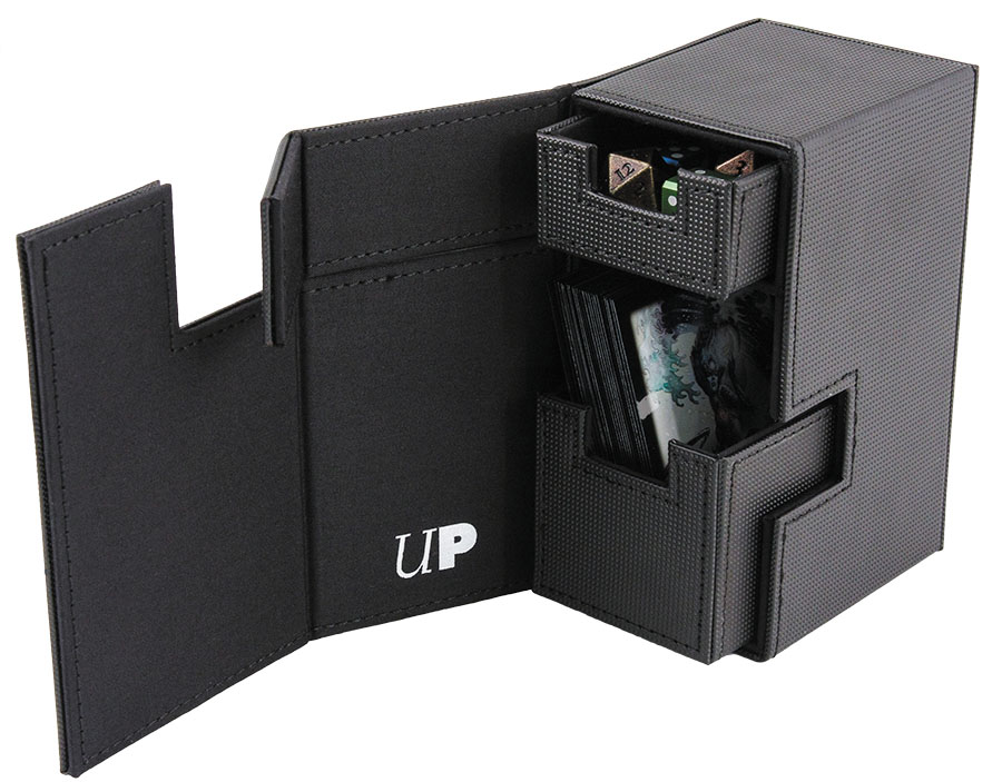 M2 Deck Box All Black Deck Box Box Front