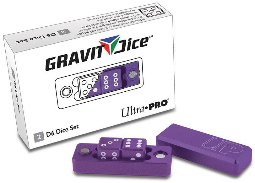 Gravity Dice D6 - 2 Dice Set Gravity Dice - Royal Box Front