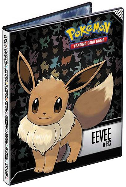 Pokemon: Eevee 4-pocket Portfolio Box Front