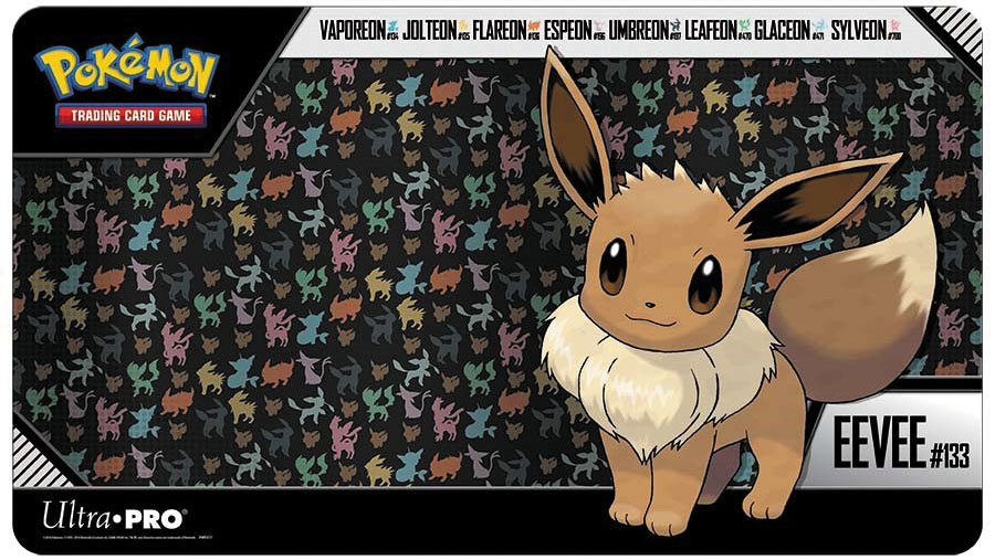 Pokemon: Eevee Play Mat Box Front